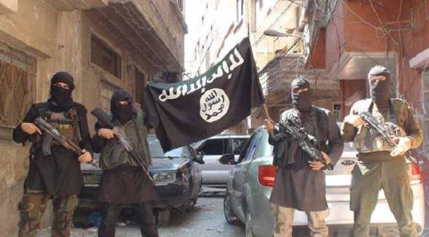 Các tay súng IS trong trại tỵ nạn Yarmouk, ngoại ô Damascus