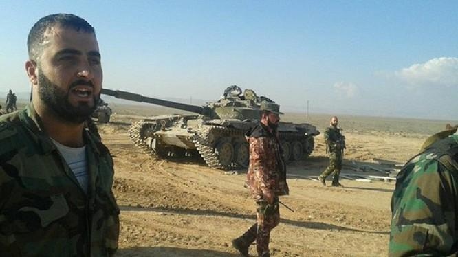 Tướng Suheil al-Hassan, tư lệnh trưởng lực lượng Tiger trên chiến trường Aleppo