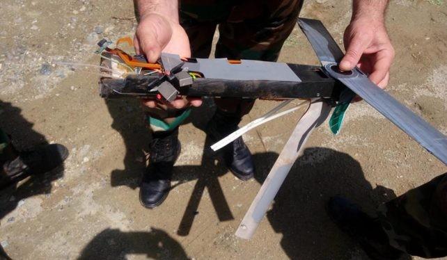 Chiếc máy bay không người lái Switchblade của quân đội Mỹ bị bắn hạ