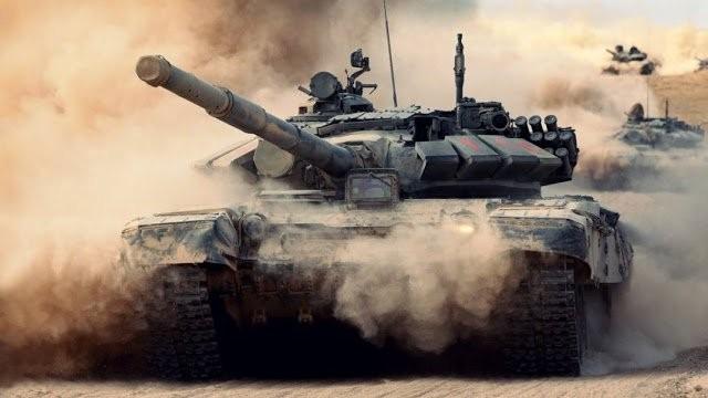 Xe tăng quân đội Syria tấn công trên chiến trường (ảnh minh họa)