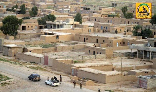 Các lực lượng vũ trang Iraq giải phóng thị trấn Qayrawan, Iraq