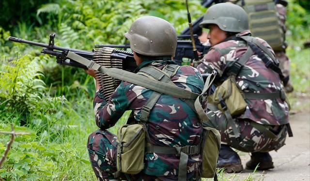 Binh sĩ Philippine trong thành phố Marawi