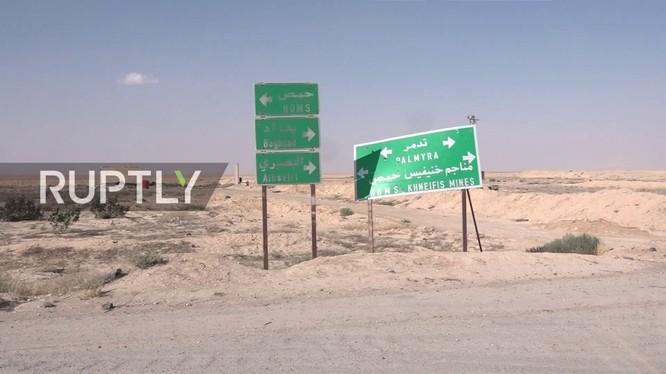 Cuộc tấn công phía nam thành phố cổ Palmyra