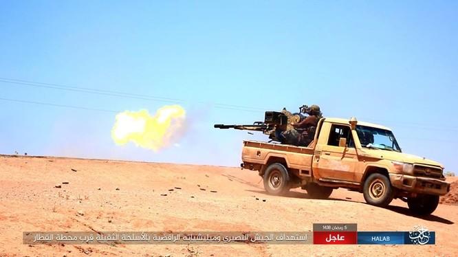 IS tử chiến trong thị trấn Maskanah, phía đông Aleppo