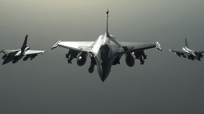 Lực lượng không quân liên minh do Mỹ dẫn đầu ở Syria (ảnh minh họa)