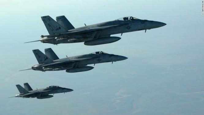 Lực lượng không quân liên minh do Mỹ dân đầu ở Syria
