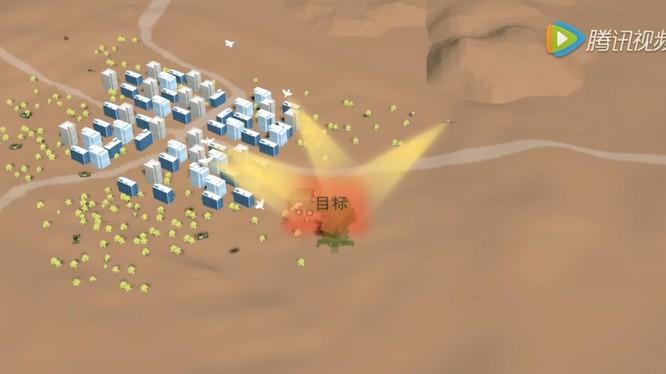 Bầy đàn drones thông minh tiến hành tấn công mục tiêu