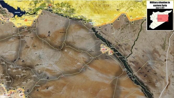 Thành phố Deir Ezzor trong vòng vây kẻ thù