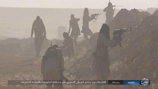 Lực lượng chiến binh IS, tập trung về thành phố Deir Ezzor nhằm đánh chiếm thành phố này