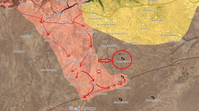 Lực lượng Tiger tấn công mỏ dầu Thawrah trên vùng nông thôn tỉnh Raqqa, Syria