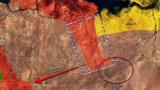 Bản đồ tình hình chiến sự tỉnh Raqqa