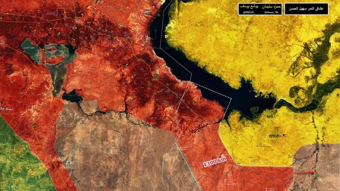 Chiến trường Raqqa, quân đội Syria giải phóng 12 khu dân cư, 1300 km2 lãnh thổ