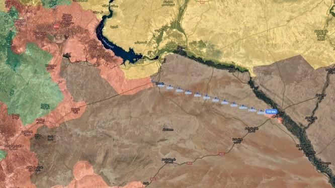 Lực lượng Tiger đang trên khoảng cách 125 km cách thành phố Deir Ezzor