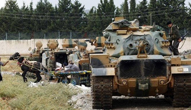Lực lượng quân đội Thổ Nhĩ Kỳ lại đến Aleppo