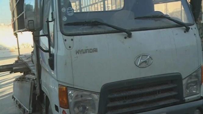 Xe tải chở đạn cho phiến quân ở Đông Ghouta bị bắt giữ