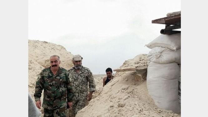 Tướng Issam Zahreddine, lữ đoàn trưởng lữ đoàn dù 104 Vệ binh Cộng hòa trên chiến trường Deir Ezzor