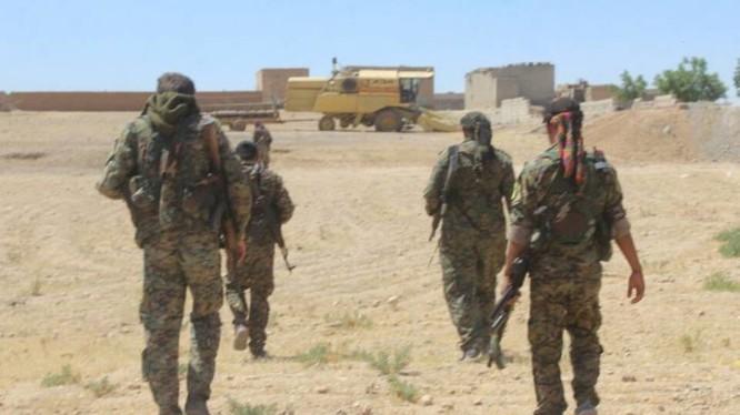 Binh sĩ Lực lượng Dân chủ Syria (SDF) trên chiến trường