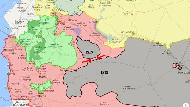 Tổng quan tình hình cuộc chiến chống IS trên chiến trường Syria
