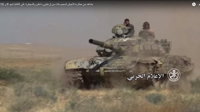 Lực lượng Diều hâu Sa mạc bắt đầu chiến dịch tấn công trên vùng miền đông tỉnh Hama