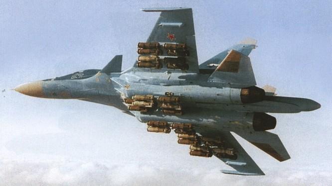 Máy bay chiến đấu không quân Nga trên chiến trường Syria