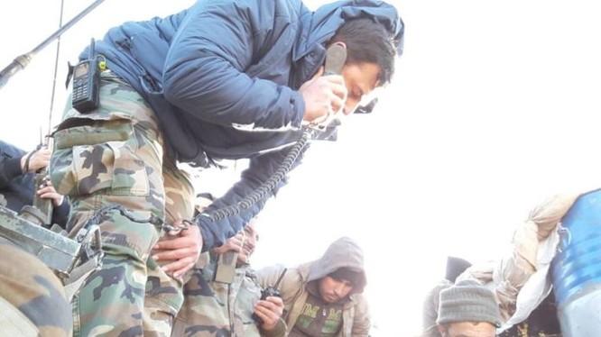 Binh sĩ lực lượng Vệ binh Cộng hòa trên chiến trường phía đông Damascus