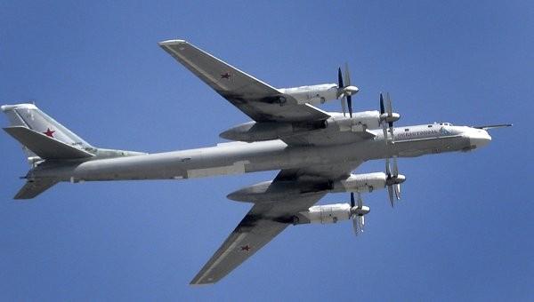 Máy bay ném bom chiến lược Tu - 95MS Nga