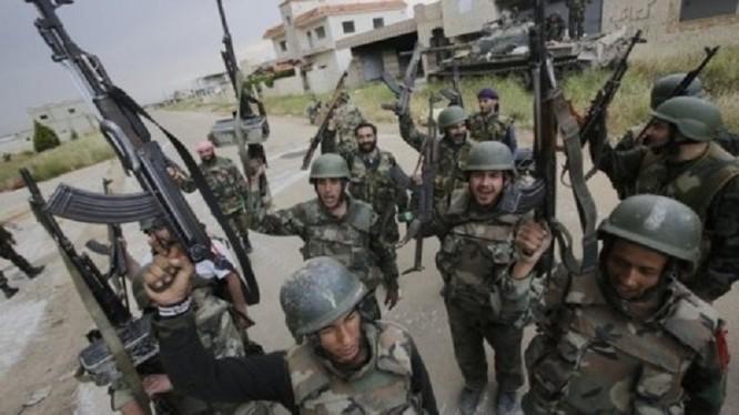 Các binh sĩ thuộc lực lượng Vệ binh Cộng hòa