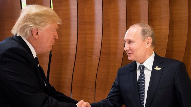 Tổng thống Mỹ Donald Trump gặp tổng thống Nga Vladimir Putin tại hội nghị G20