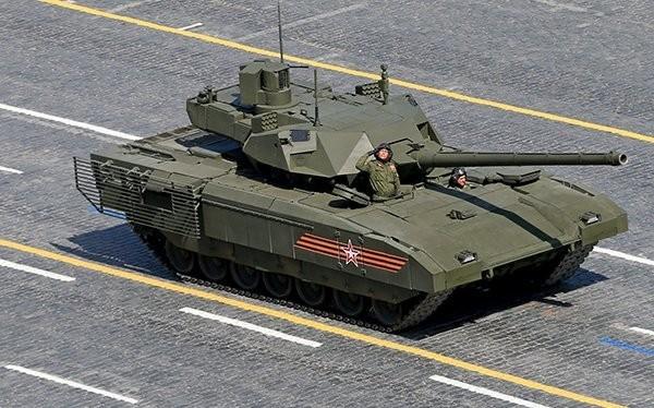 Xe tăng T-14 Armata trên quảng trường Đỏ