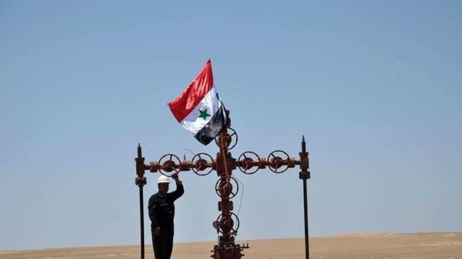 Dòng khí gas bắt đầu chảy vào đường ống dẫn khí ở Syria