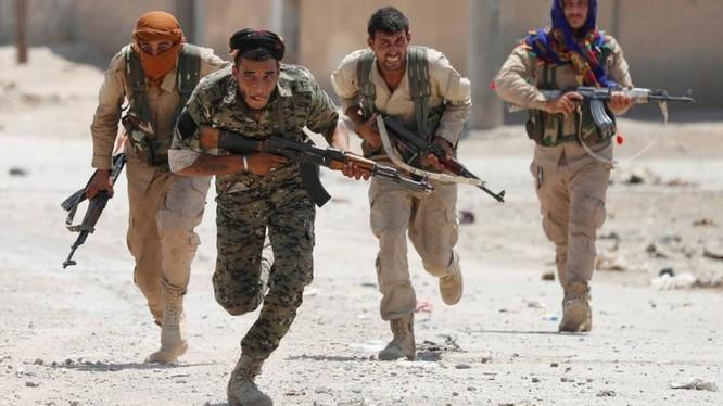 Lực lượng chiến binh người Kurd YPG ở Raqqa