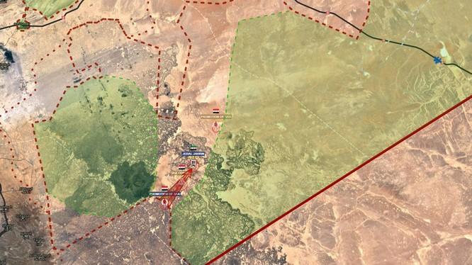 Quân đội Syria tiến hành cuộc tấn công khép chặt vòng vây lực lượng Hồi giáo cực đoan FSA.