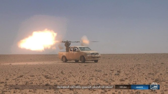 Lực lượng khủng bố IS tấn công trên chiến trường tỉnh Homs