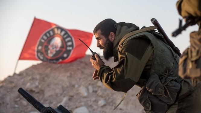 Lực lượng binh sĩ Săn IS trên chiến trường Palmyta - Homs