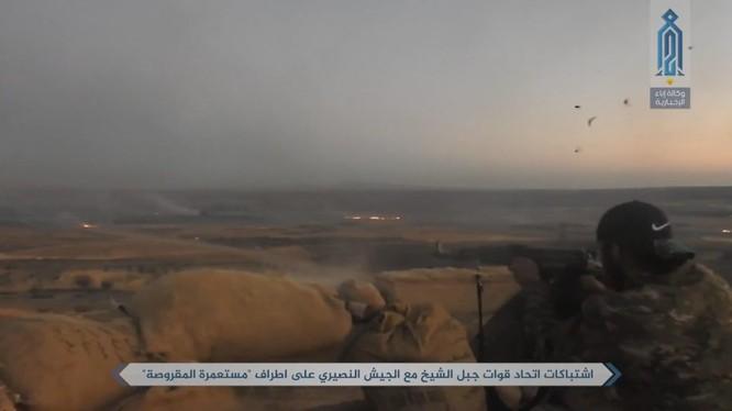 Phiến quân thánh chiến tấn công thị trấn al-Maqrousah, phía tây nam thủ đô Damascus