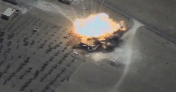 Không quân Nga không kích trên chiến trường vùng nông thôn tỉnh Hama