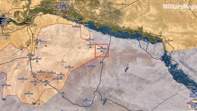 Ngôi làng Al Salam Alaykum, lực lượng Tiger vừa giải phóng