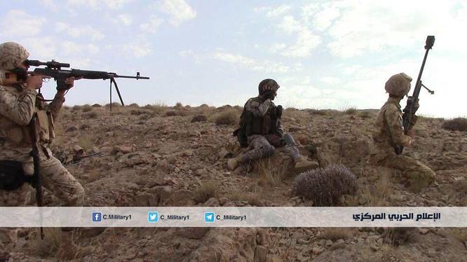 Lực lượng Hezbollah tiến công trên chiến trường vùng biên giới Lebanon - Syria