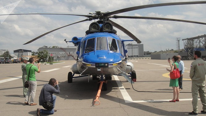 Mi-171A2 - phiên bản hiện đại của huyền thoại của Mi-8 Việt Nam
