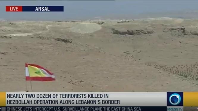 Lực lượng Hezbollah giải phóng nhiều khu vực trên lãnh thổ vùng biên giới Syria - Lebanon