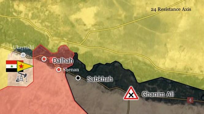 Nhưng ngôi làng và địa bàn quân đội Syria vừa giải phóng ngày 26.07.2017
