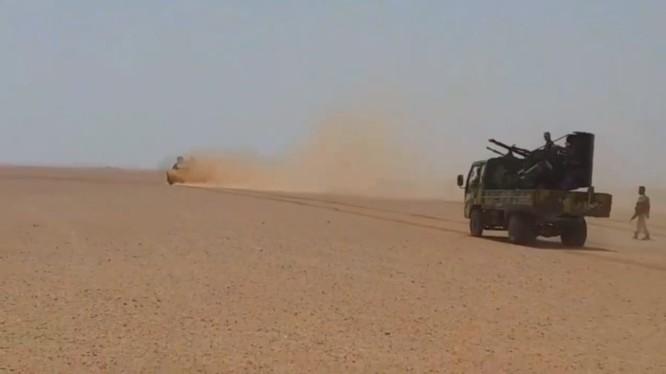 Lực lượng Tiger tấn công trên chiến trường Raqqa - Deir Ezzor