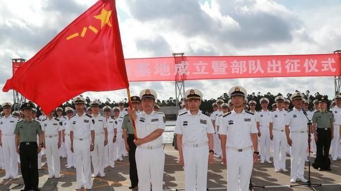 Hải quân Trung Quốc chính thức đưa vào hoạt động căn cứ quân sự ở Đông Phi - Ảnh Timesofindia.indiatimes.com