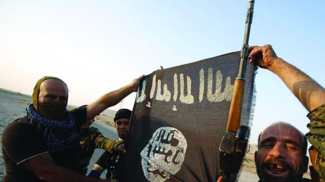 Chiến binh IS trên chiến trường Libyan - ảnh minh họa từ Libyan Express