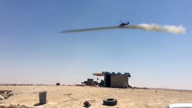 Trực thăng chiến đấu Nga truy quét IS trên chiến trường Syria, chuẩn bị cho chiến dịch tấn công về Deir Ezzor - ảnh video NDF