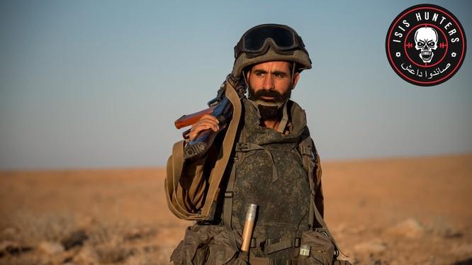 Binh sĩ lực lượng Săn IS - ảnh minh họa từ truyền thông lực lượng Săn IS