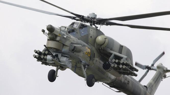 Trực thăng tấn công Mi-28N (Thợ săn đêm) - ảnh Sputnik