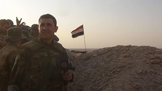 Binh sĩ lực lượng Tiger trên chiến trường Deir Ezzor,chuẩn bị cho cuộc tấn công - ảnh Masdar News