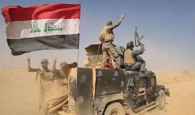 Quân đội Iraq tiến công trên chiến trường ngoại ô thị trấn Tal-Afal - ảnh minh họa Masdar News