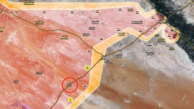 Bản đồ vị trí làng Kobajjep, quân đội Syria đã phòng thủ vững chắc ngôi làng chiến lược này - ảnh South Front